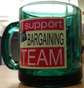 bargaining team mug