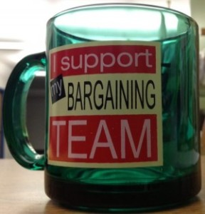 bargaining team mug
