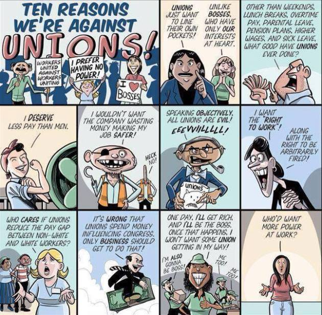 union cartoon